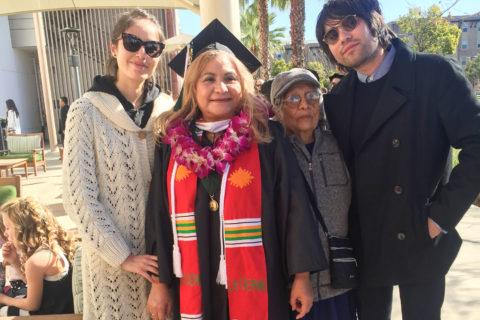 Ana Gonzalez USC graduate