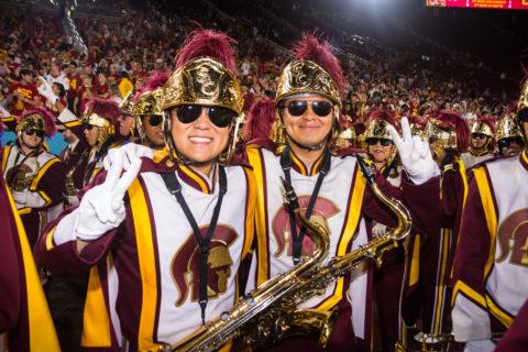 Thomas Kim Trojan Marching Band