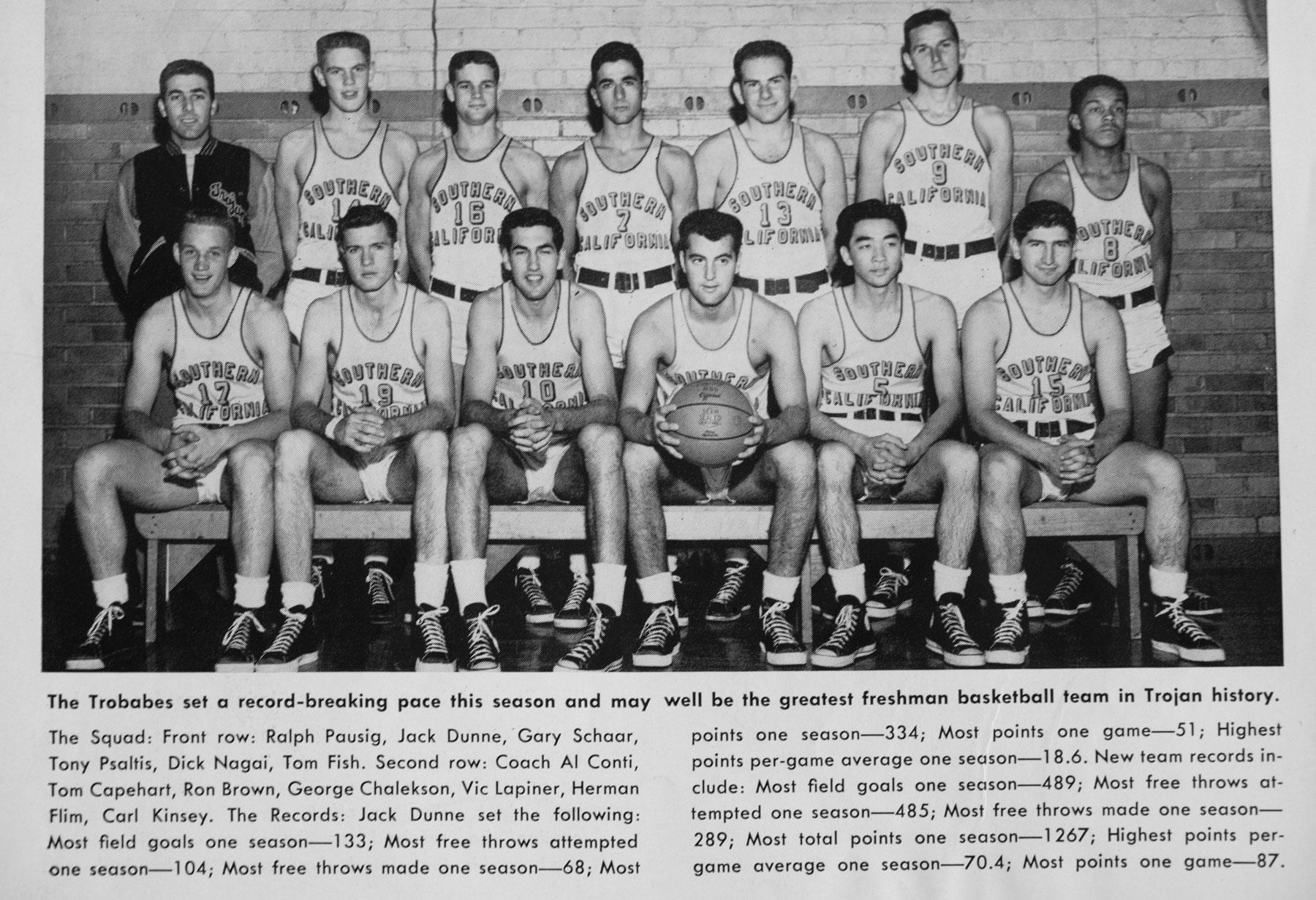 Tom Capehart basketball