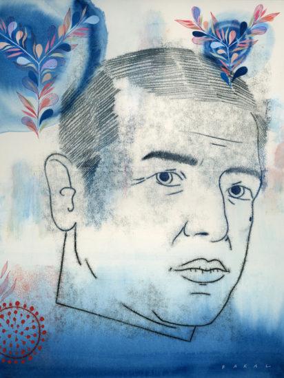 Abstract illustration of Neeraj Sood