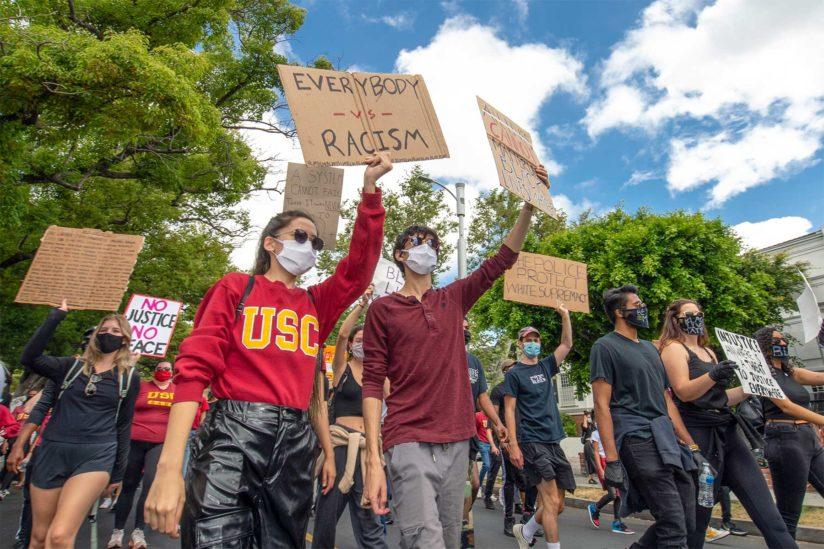 anti-Black racism USC