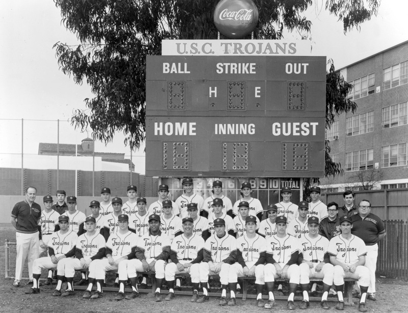 USC Trojans baseball team in the 1970s