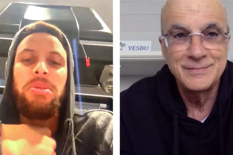 Steph Curry and Jimmy Iovine USC celebrity guests in class