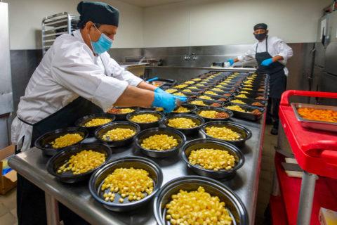 meals for seniors USC kitchen