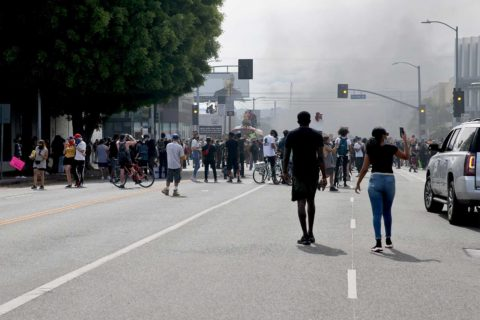 Protests in Los Angeles