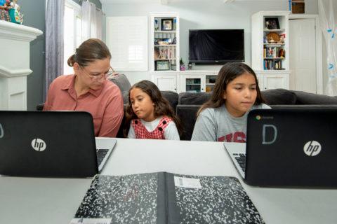 Care for Caregivers USC student tutoring program
