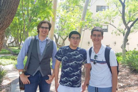 Mateo Abascal, Max Gunara and Arpad Kovesdy