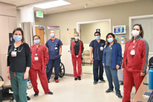 USC Verdugo Hills Hospital staff standing