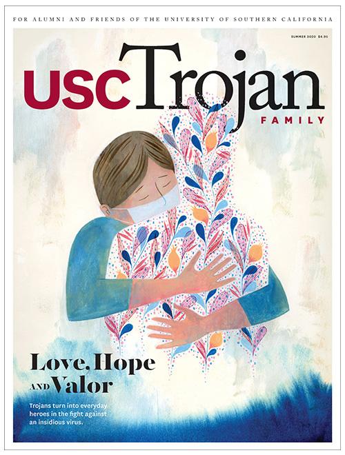 USC Trojan Family Magazine summer 2020 cover