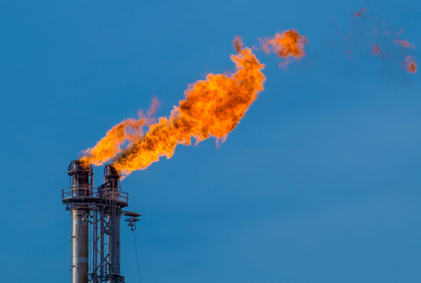 natural gas flaring pregnant women babies