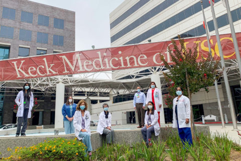 lung transplant team USC