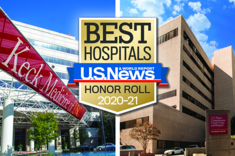 US News World Report hospital rankings 2020-2021