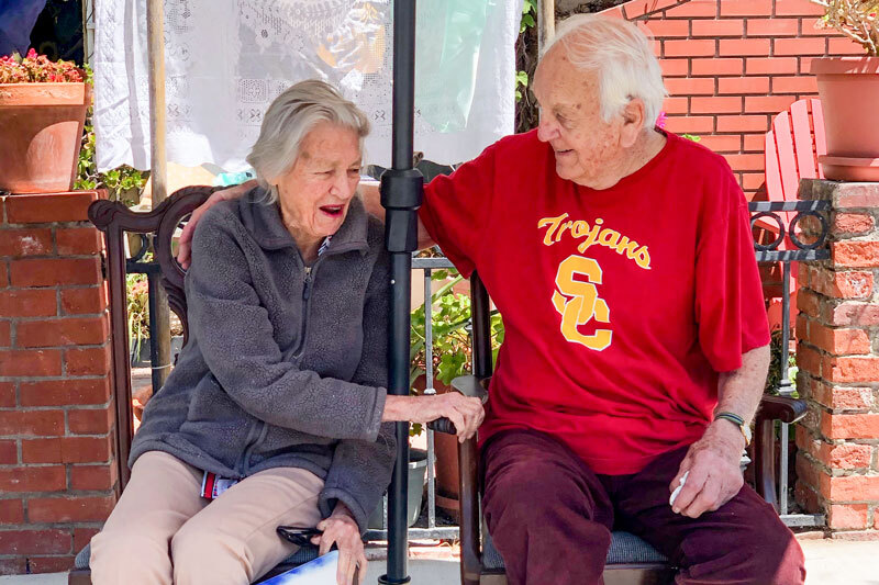 USC Alumni Barbara and Bill Birnie