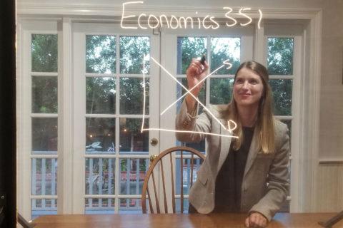 Emily Nix lightboard