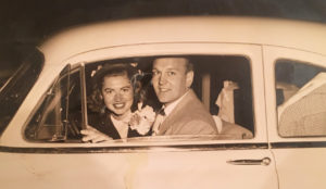 USC alumni Barbara and Bill Birnie wedding