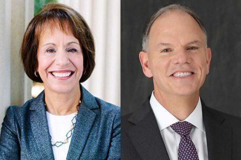 Carol L. Folt and Geoffrey Garrett economy pandemic