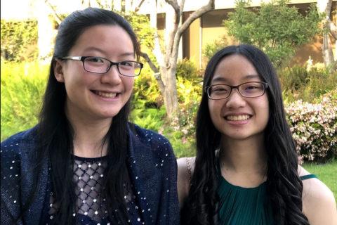 Sara and Samantha Wu USC twins