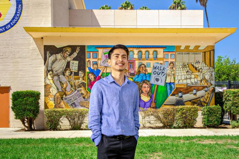 Ivan Garcia USC college-prep program grad