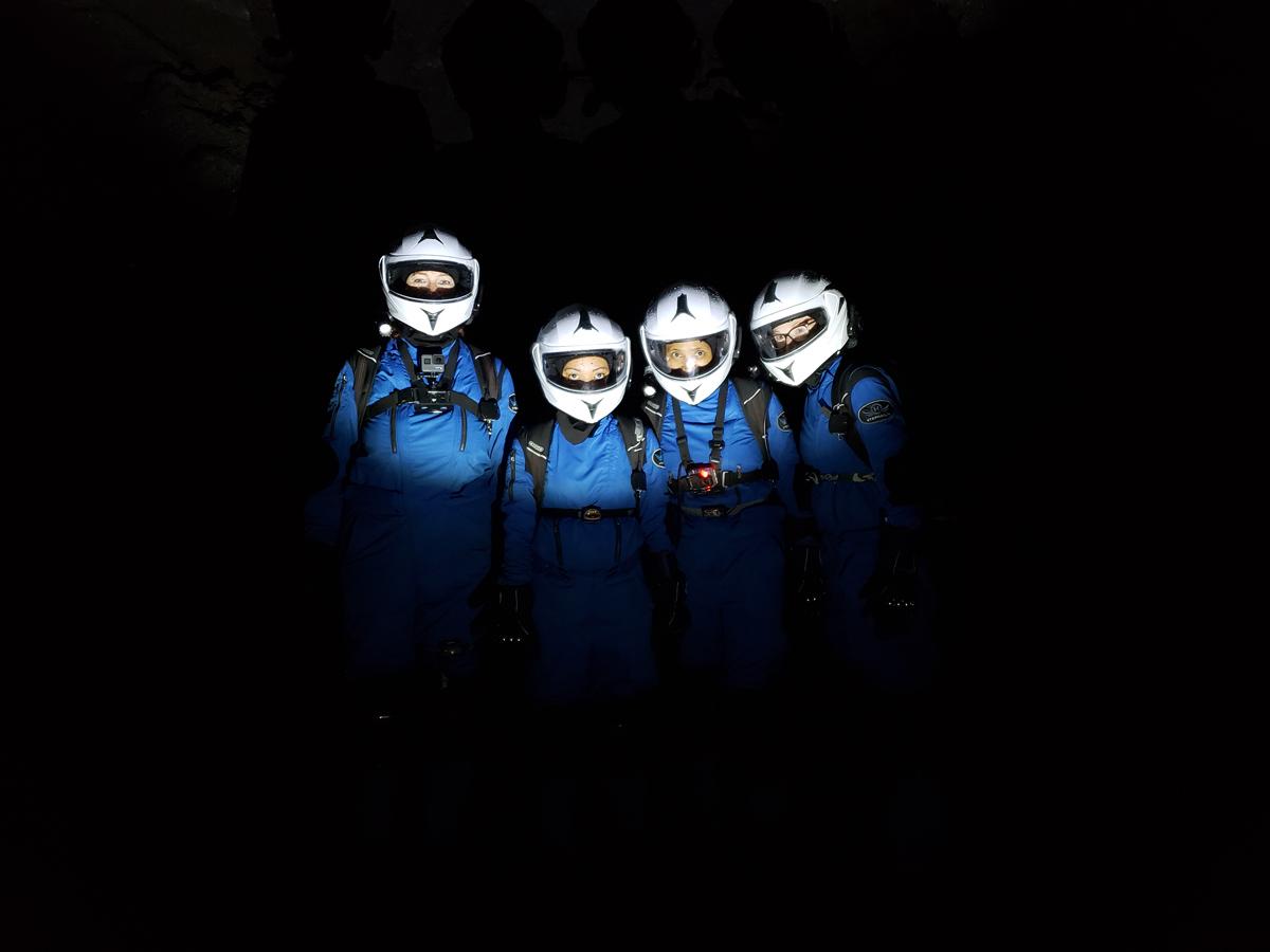 All-female Sensoria team