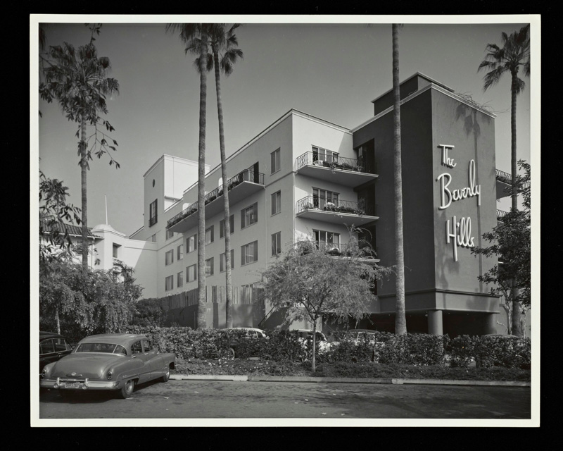 Beverly Hills Hotel script by Paul Revere Williams