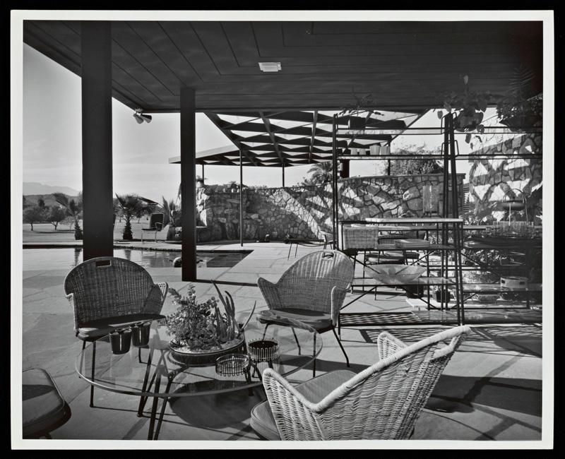 Desi Arnaz Lucille Ball patio