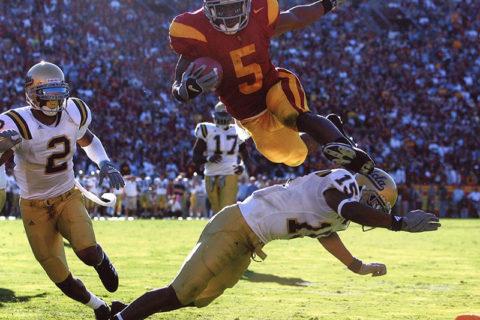 Reggie Bush against UCLA 2005