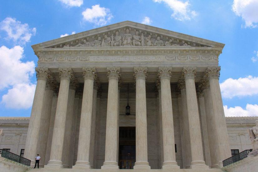 Supreme court fight