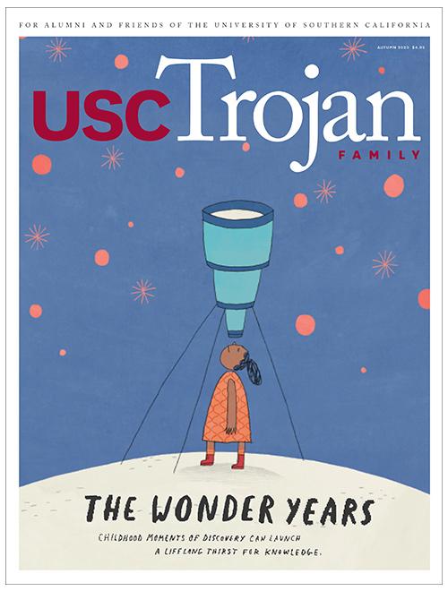 Trojan Family Magazine Autumn 2020 cover