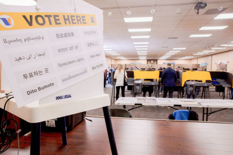 Health Sciences Campus USC voting center