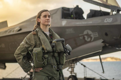 U.S. Air Force pilot Melanie Ziebart