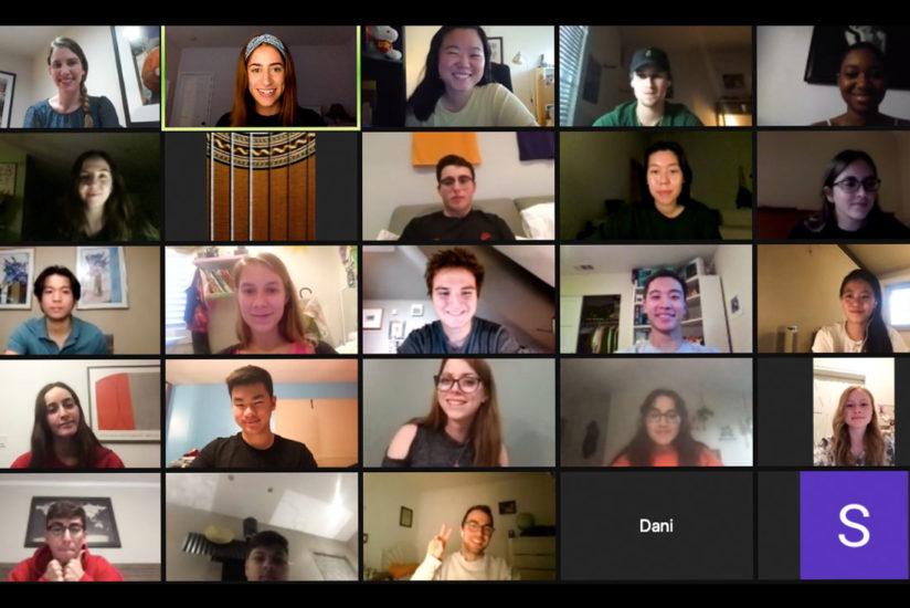virtual peer mentors