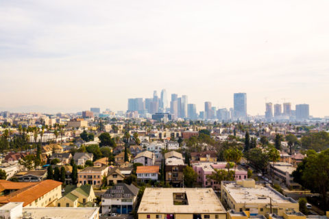 Los Angeles rent burdened households