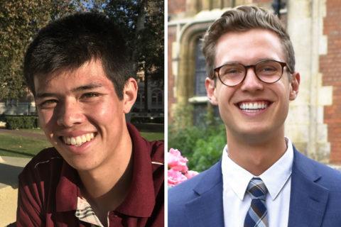 2021 Schwarzman Scholars Ben Ma Trenton Stone