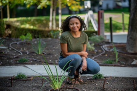 USC native plants Tianna Shaw Wakeman