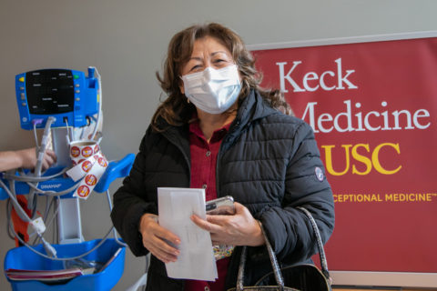 Keck family Covid vaccinations