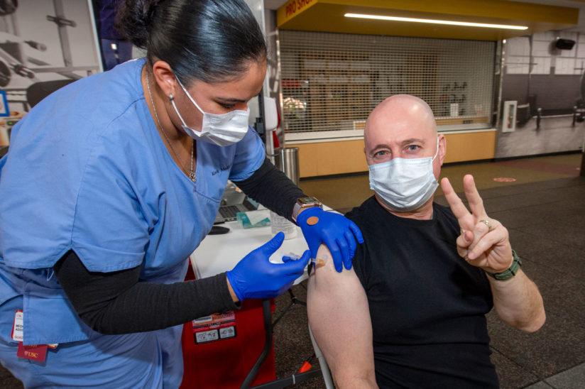 Ostrow Covid vaccine