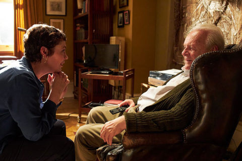 """Olivia Colman and Anthony Hopkins in a still from """"The Father"""" (Photo/Courtesy of Sony Pictures Classics)"""