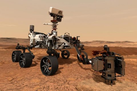 Mars rover Perseverance USC research