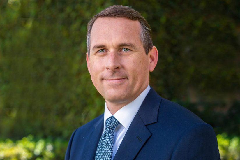 Sam Garrison USC senior vice president of university relations