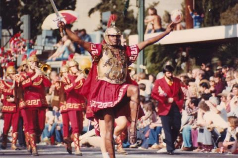 Rodney Davis USC first black drum major