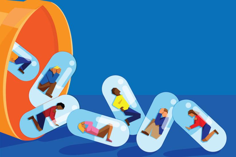 risk factors opioid relapse