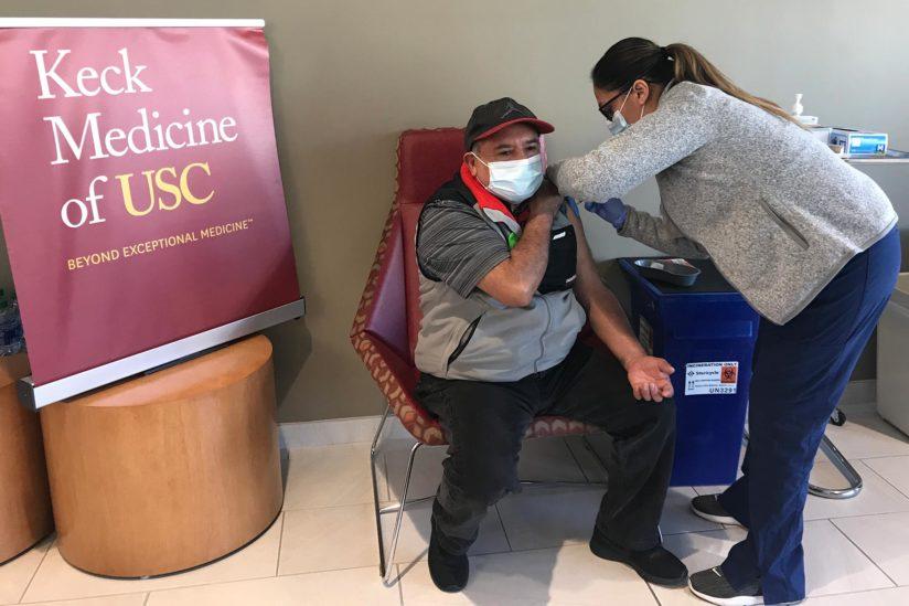 USC covid vaccine clinic