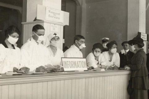 1918 flu pandemic COVID-19 future