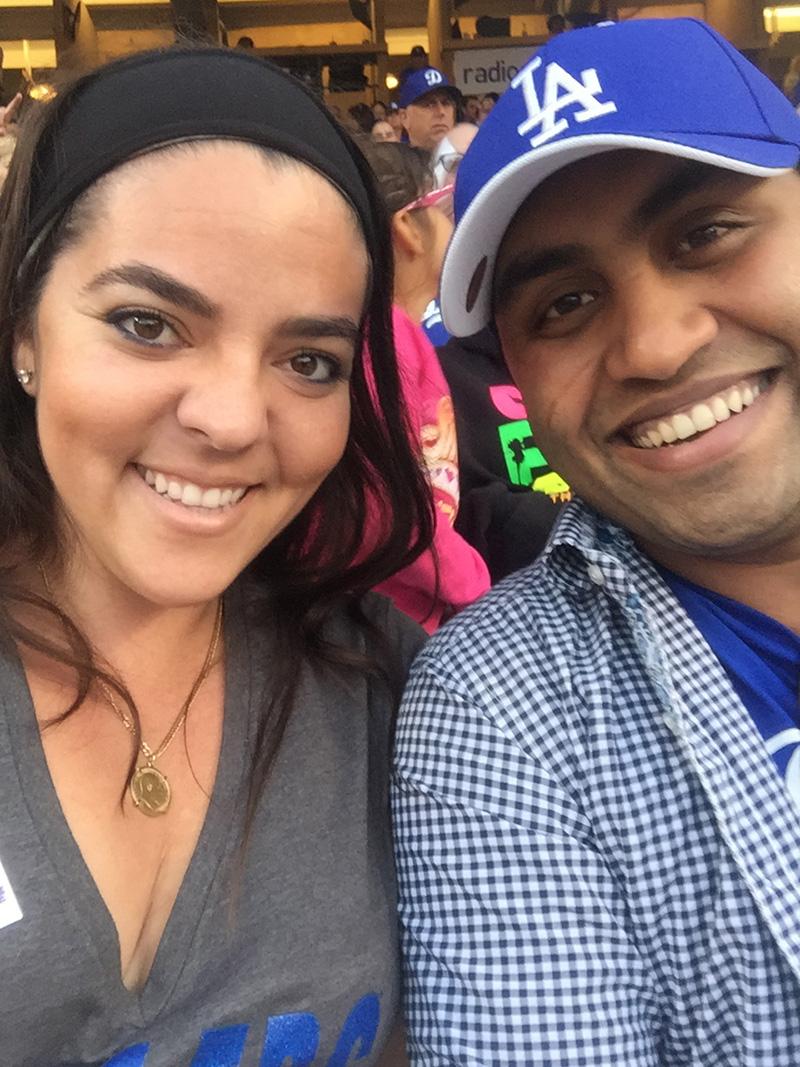 Aviana and John D'Souza of Los Angeles