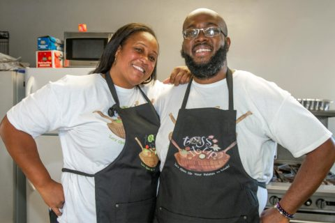 Javonne Sanders and partner Matthew N. Crawford