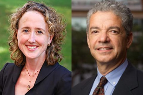 USC Fulbright faculty Hannah Garry and Gerald Giaquinta