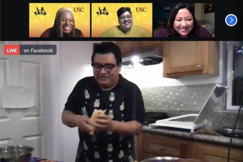 Annenberg L.A. Taco event