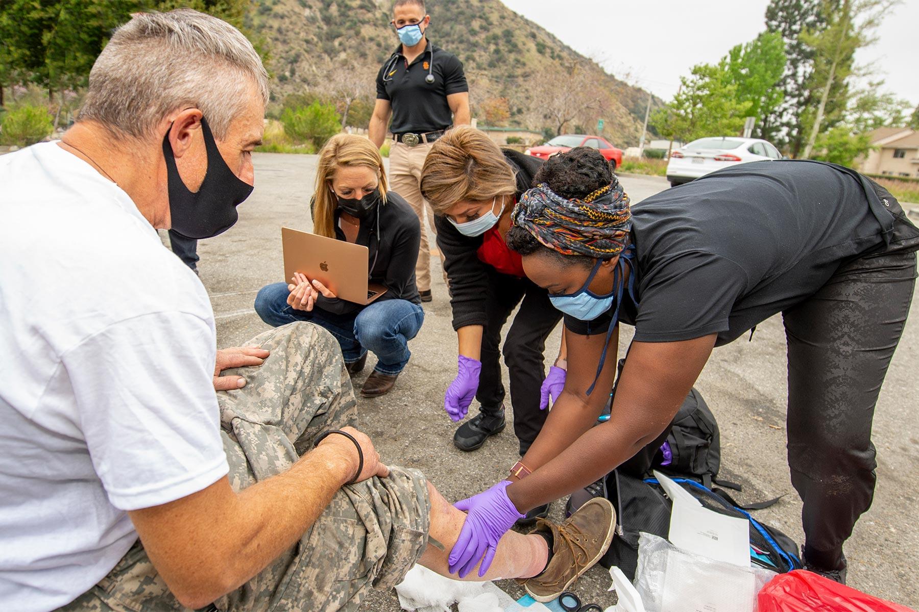 covid vaccine homeless