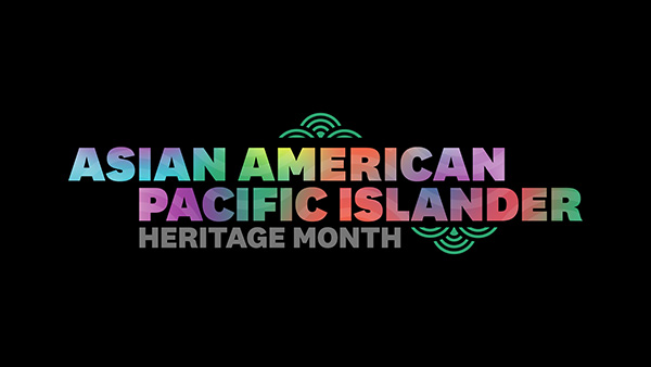 Asian American Pacific Islander Heritage Month word art