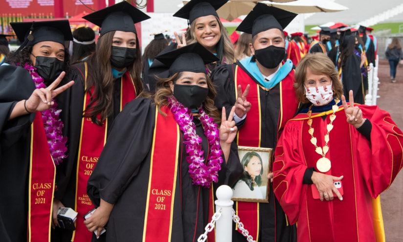 2021 USC commencement